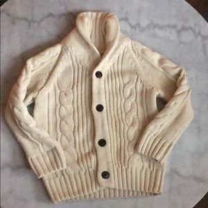 Gymboree Cable Knit sweater Cardigan XS